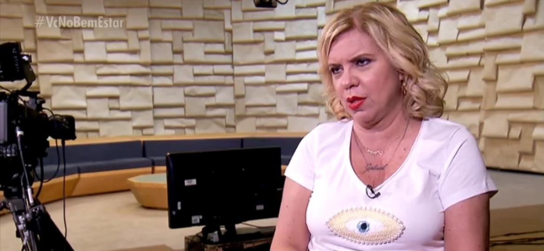 Com lúpus, Astrid Fontenelle diz que se sente ótima e não dar menor bola pra doença - Reprodução/TV Globo