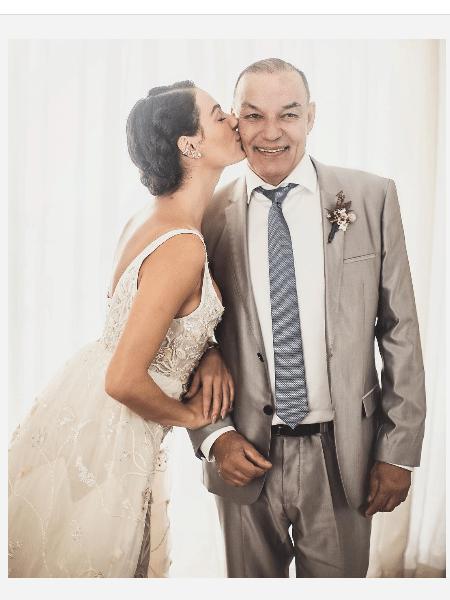 Isis Valverde com o pai, Rubens - Reprodução/Instagram
