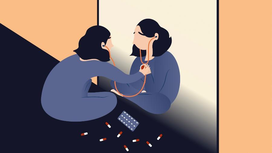 Cerca de 5% dos pacientes que vão ao médico acreditam que têm doenças graves não diagnosticadas quando nada é encontrado. Essa ansiedade persistente se torna uma doença - Chiara Zarmati/The New York Times
