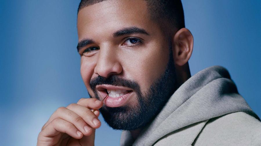 O rapper canadense Drake - Divulgação