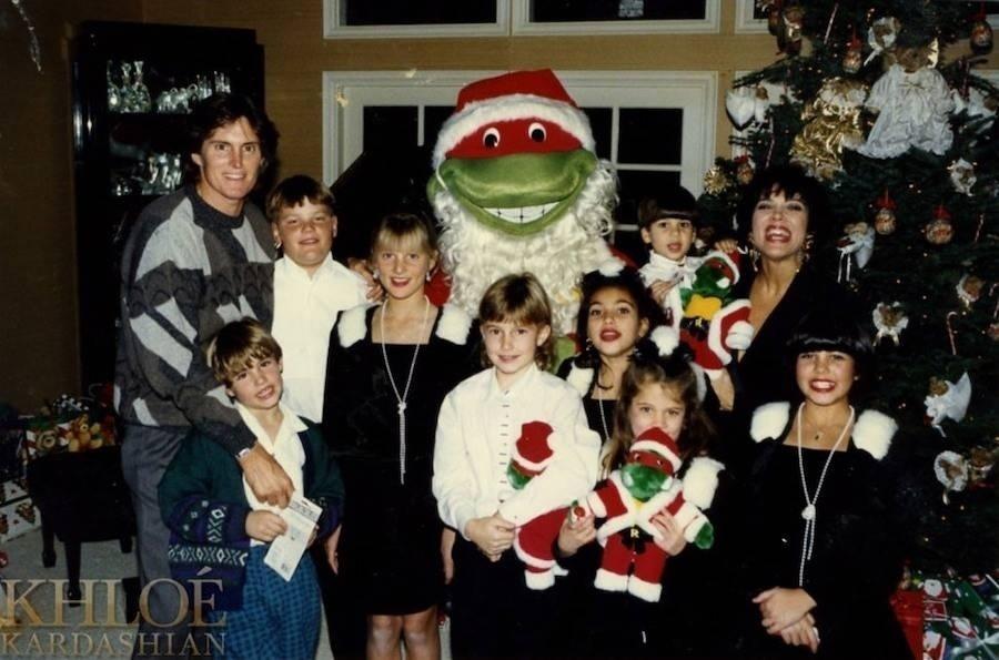 O Natal das Kardashian