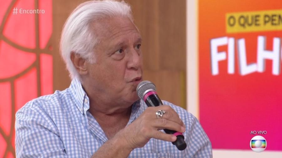 """Antonio Fagundes no """"Encontro"""" - Reprodução/Globo"""
