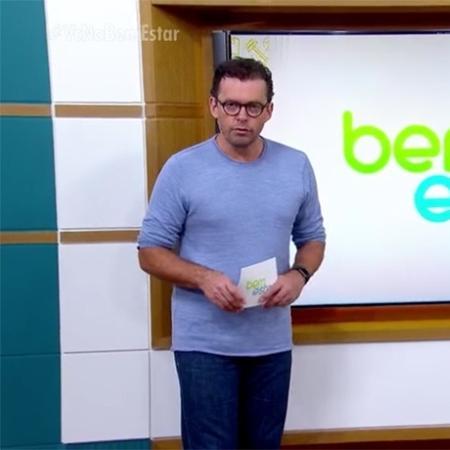 """Fernando Rocha no """"Bem Estar"""" - Reprodução/Globo"""