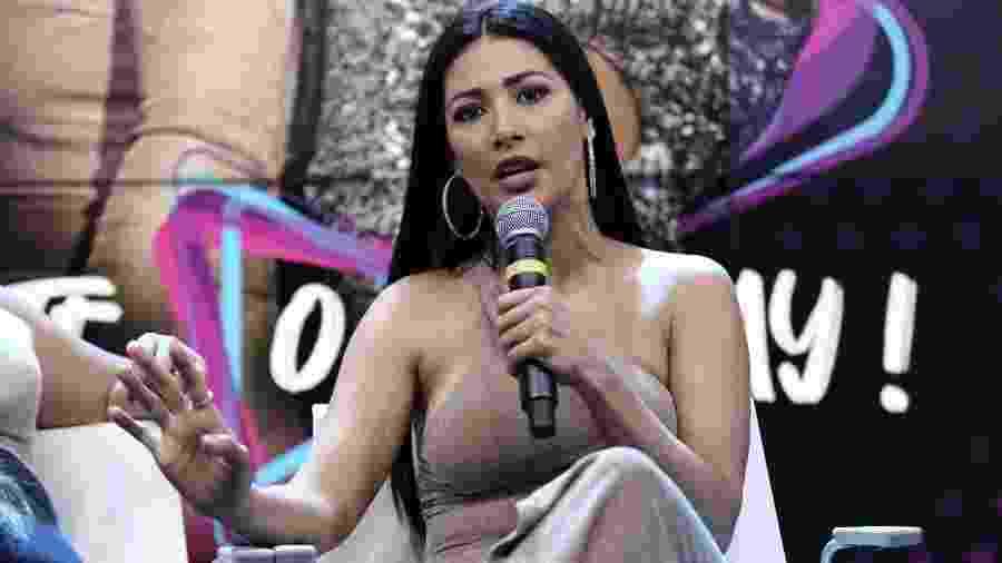 A cantora Simaria realiza coletiva ao lado da irmã Simone em São Paulo - Cláudio Augusto/Brazil News