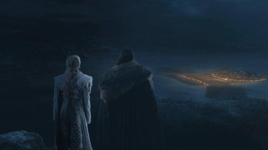 """Cenas do terceiro episódio da oitava temporada de """"Game of Thrones"""" - Divulgação/HBO"""