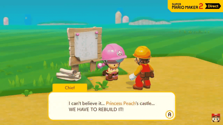 Super Mario Maker 2 - História - Divulgação - Divulgação
