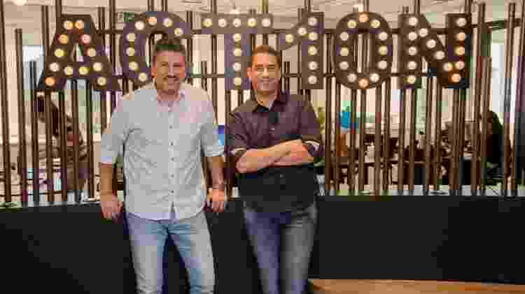 Marcelo Maia e Marco Serralheiro, diretor e CEO da ACT10N - Robson Senne/Reprodução