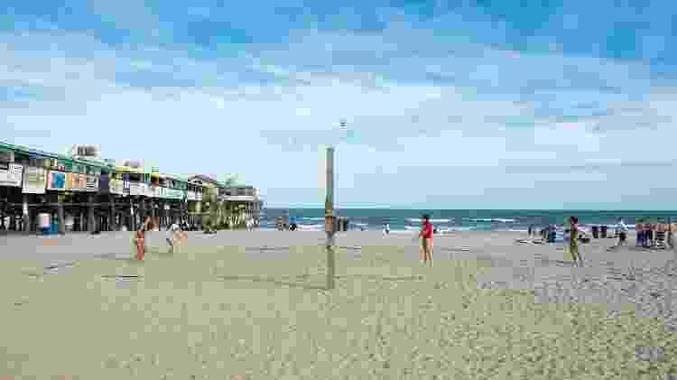 Vôlei de praia em Cocoa Beach - Getty Images