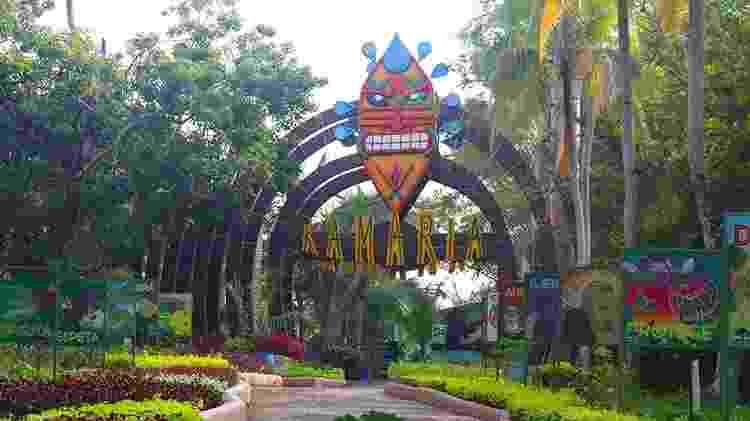 O espaço conhecido como Kamaria ocupa a área do antigo casarão da Hacienda Nápoles - Divulgação/Parque Temático Hacienda Nápoles