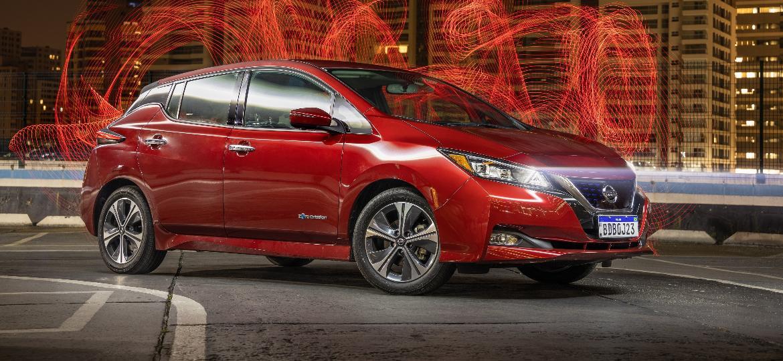 Leaf é um dos carros elétricos mais vendidos do mundo - Marcos Camargo/UOL