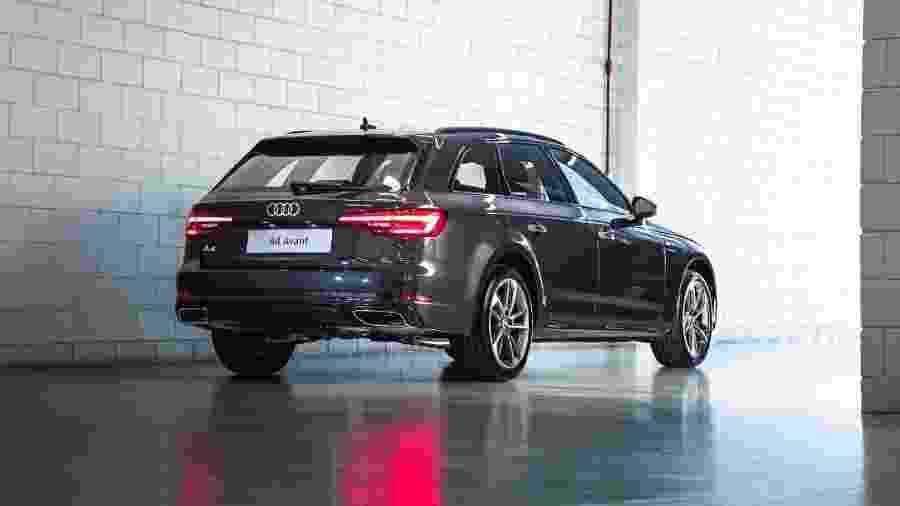 Audi A4 Avant traz motor 2.0 turbo de 190 cv, mesma motorização do A5 Sportback - Divulgação