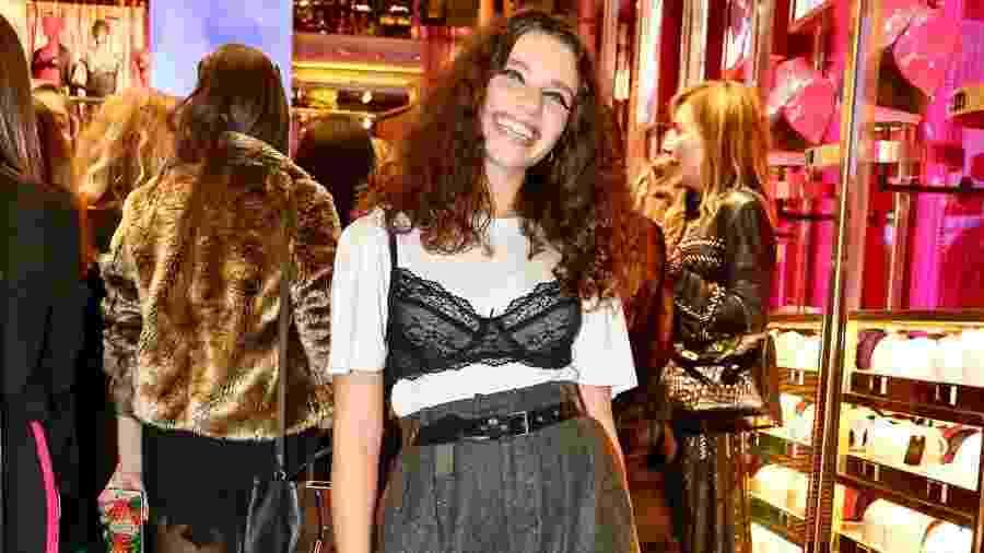 """Bruna Linzmeyer no lançamento da campanha """"Prazer, Loungerie"""" - Manuela Scarpa/Brazil News"""