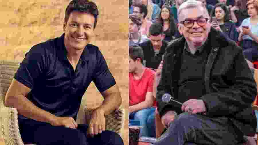 Rodrigo Faro e Walcyr Carrasco - Reprodução/Instagram/Reprodução/TV Globo/Montagem UOL