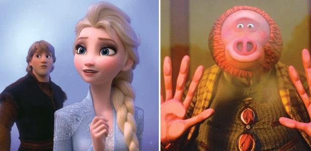 Cada um concorre em 8 categorias | Frozen 2 e Link Perdido lideram indicações ao Oscar da animação