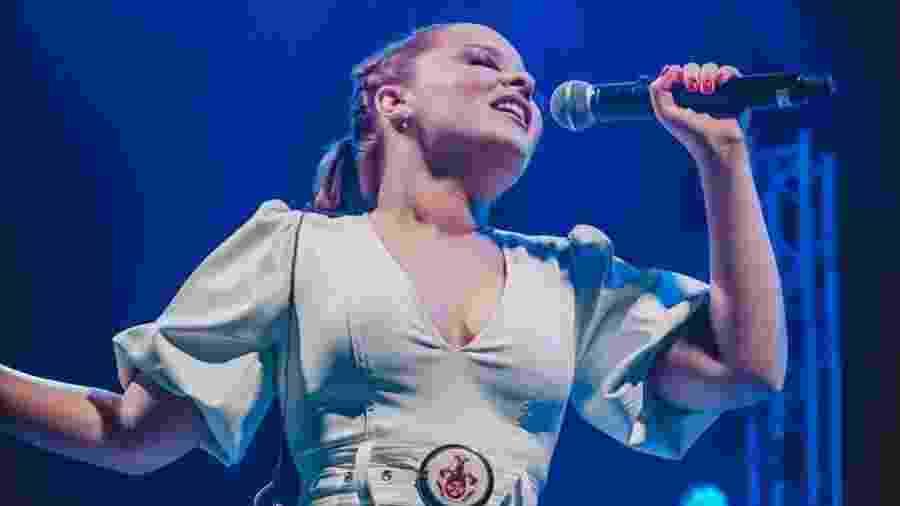 Maiara canta em Lisboa (Portugal), na turnê europeia com Maraísa - Reprodução/Instagram