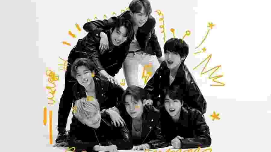 Grupo sul-coreano de k-pop BTS - Reprodução/Instagram