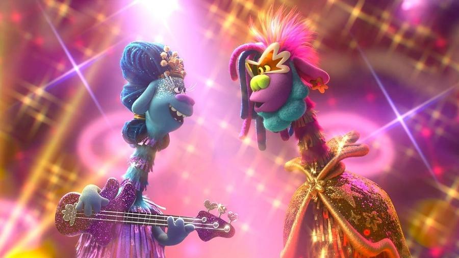 """""""Trolls World Tour"""" foi o primeiro filme da Universal lançado simultaneamente em casa e nos cinemas - Divulgação/DreamWorks"""