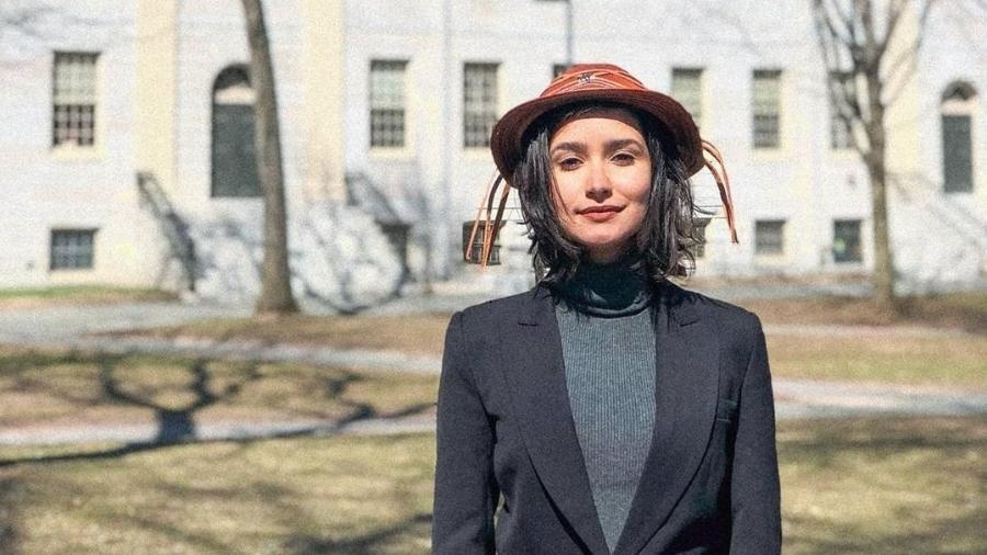 Natália Cecília Ribeiro foi selecionada para estudar economia em um intercâmbio na Universidade Harvard - Arquivo Pessoal