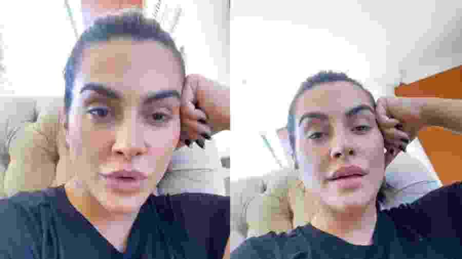 Cleo faz desabafo sobre autoestima em rede social - Reprodução/Instagram