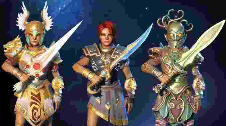 Immortals Fenyx Rising roupas - Divulgação/Ubisoft - Divulgação/Ubisoft