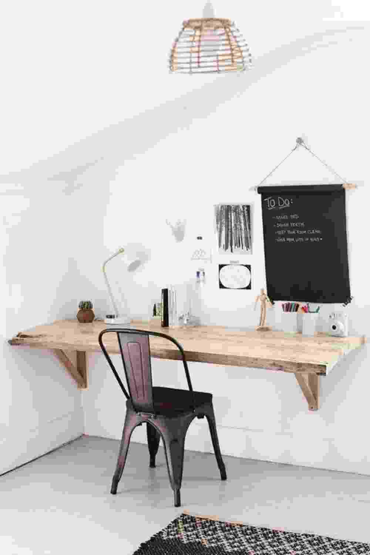 Mesa para home office - Reprodução/Pinterest