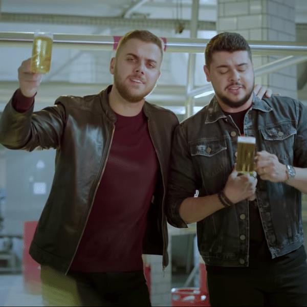 Zé Neto e Cristiano lançaram hoje o clipe de 'Alô Ambev'