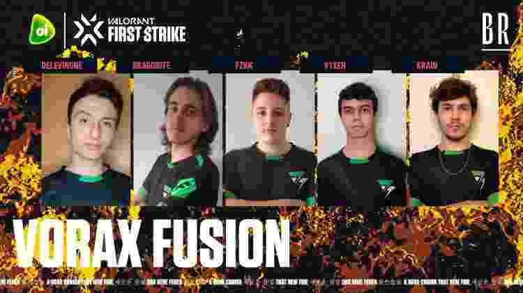 Vorax Fusion - Divulgação/RiotGamesBrasil - Divulgação/RiotGamesBrasil