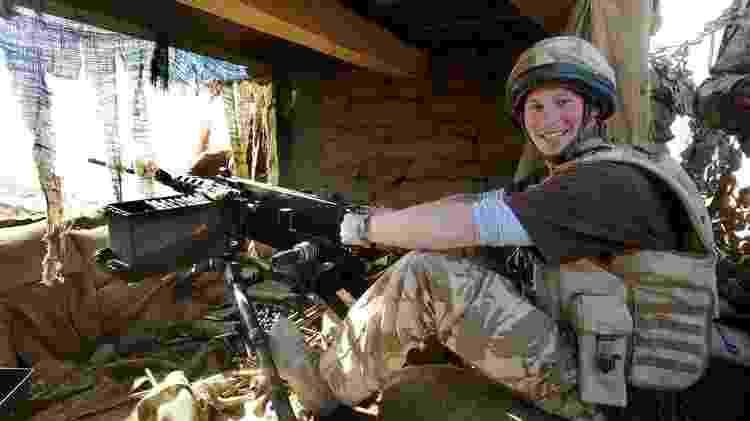 Servindo no Exército, o príncipe Harry foi para o Afeganistão - PA Media - PA Media