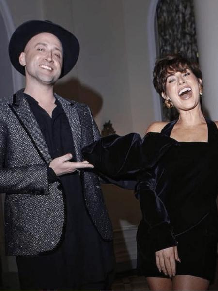 BBB 21: Fernanda Paes Leme e Paulo Gustavo - Reprodução/Globoplay