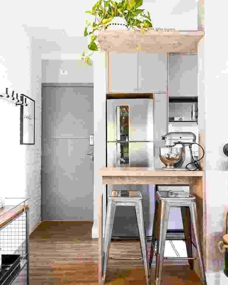 Cozinha do apartamento de Ana - Arquivo Pessoal - Arquivo Pessoal
