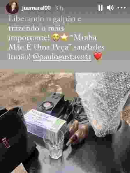 Irmã de Paulo Gustavo desmonta galpão do ator - Reprodução/Instagram - Reprodução/Instagram