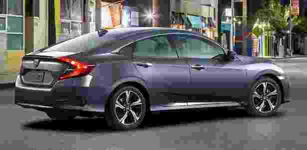 Décima geração do Honda Civic - Divulgação - Divulgação
