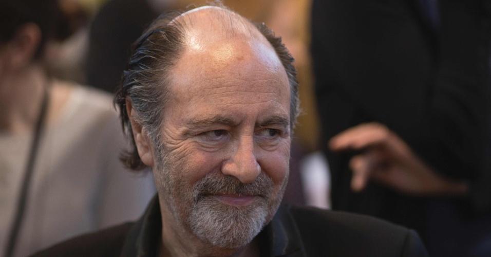 O cantor francês Michel Delpech em foto de 2014
