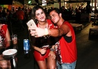 Após fim de namoro, Thammy Miranda chega acompanhado a camarote no Anhembi - Cláudio Augusto/Brazil News