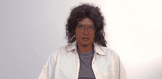 Geisy Arruda caracterizada como moradora de rua para quadro do programa do Gugu - Divulgação/Record
