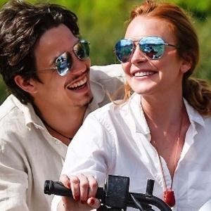 Lindsay Lohan com o noivo, o russo Egor Tarabasov - Reprodução/Instagram lindsaylohan