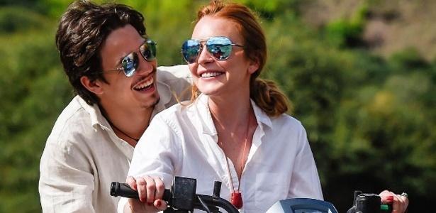 Lindsay Lohan e o noivo, o herdeiro bilionário russo Egor Tarabasov - Reprodução/Instagram lindsaylohan