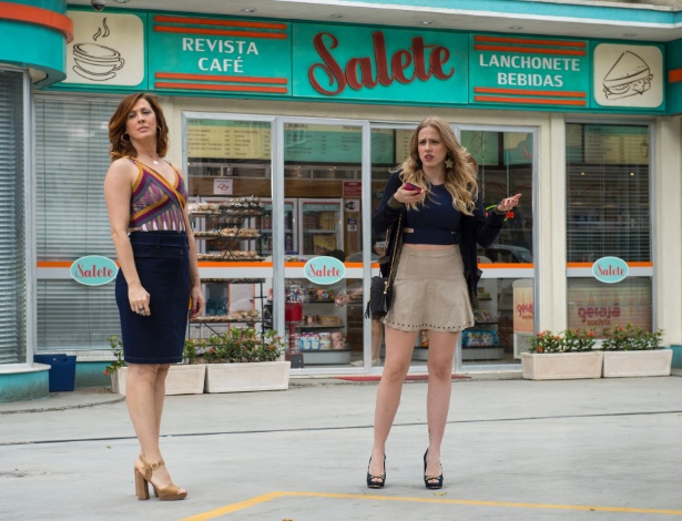 """Salete (Claudia Raia) e Jéssica (Marcella Rica) em """"A Lei do Amor"""" - Estevam Avellar/Divulgação/TV Globo"""