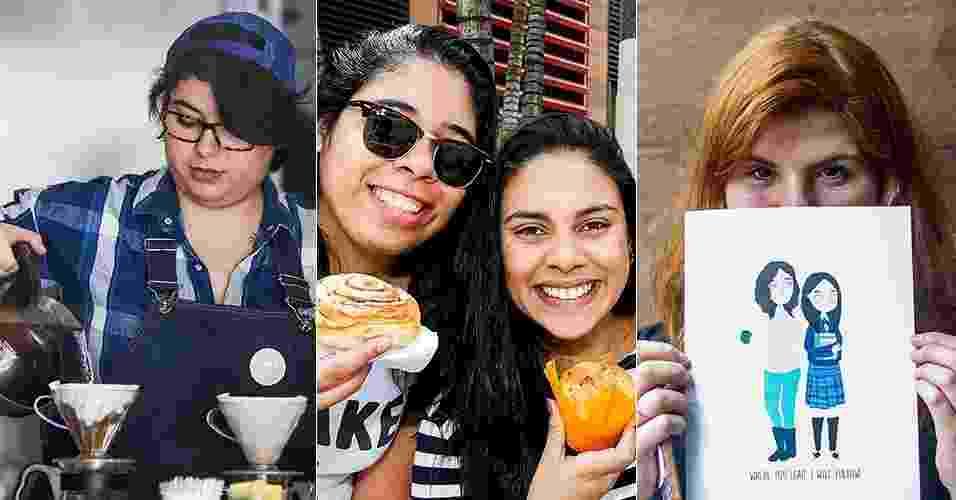"""29.out.2016 - Fãs de """"Gilmore Girls"""" participam de evento em homenagem à série em padaria de São Paulo - Ricardo Matsukawa/UOL"""