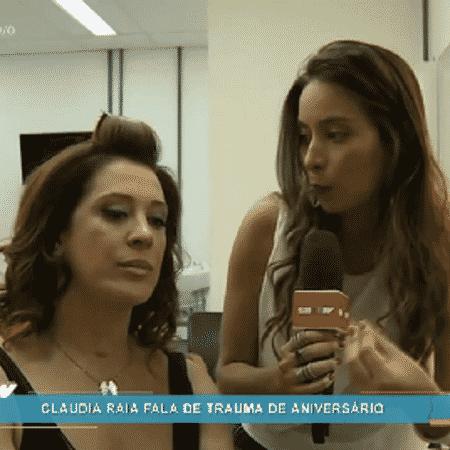 Claudia Raia diz que seu Réveillon será na praia - Reprodução/TV Globo