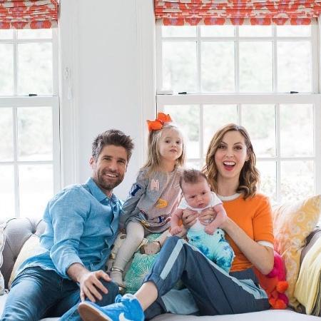 A atriz Eva Amurri com a família - Reprodução/Instagram/thehappilyeva
