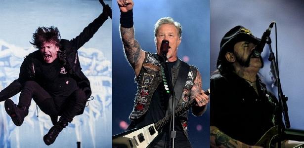 Iron Maiden, Metallica, Motörhead e Slipknot: nomes do som pesado que já tocaram no Rock in Rio