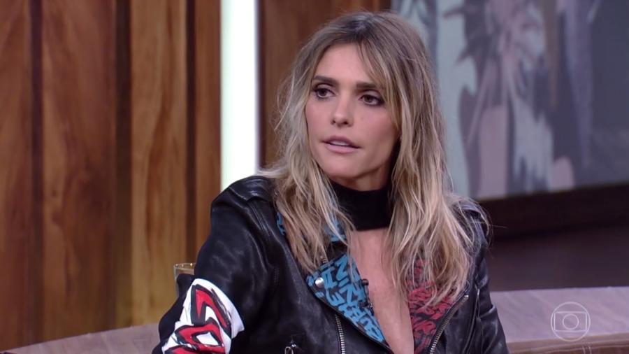 """Fernanda Lima participa do """"Conversa com Bial"""" - Reprodução/Globo"""