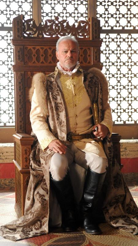 "Kadu Moliterno é o rei Otoniel em ""Belaventura"" - Blad Meneghel/Record TV"