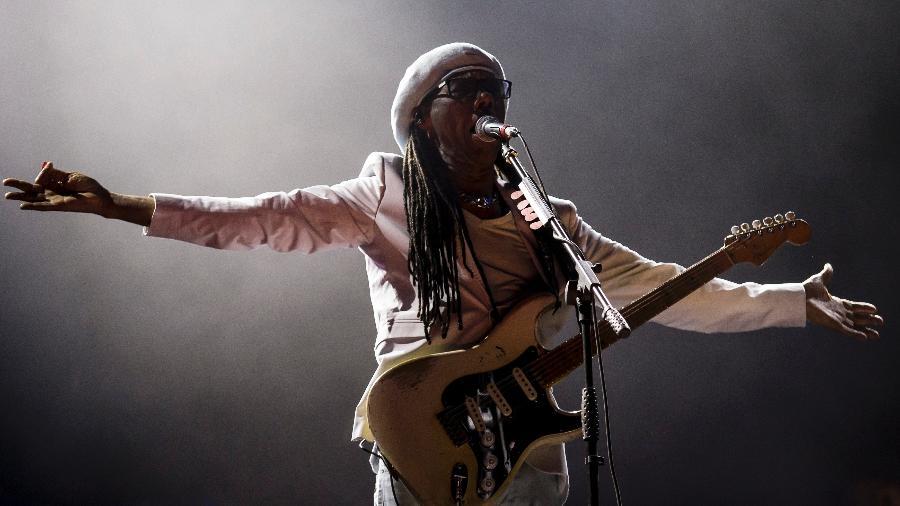 Nile Rodgers & Chic transformam Rock in Rio em pista disco - Bruna Prado/UOL