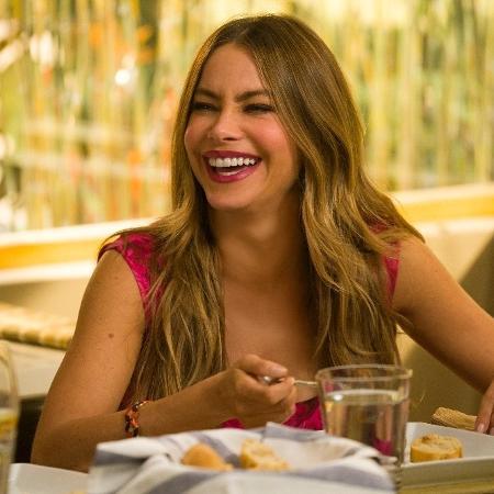 """Sofía Vergara em cena na série """"Modern Family"""" - Divulgação"""