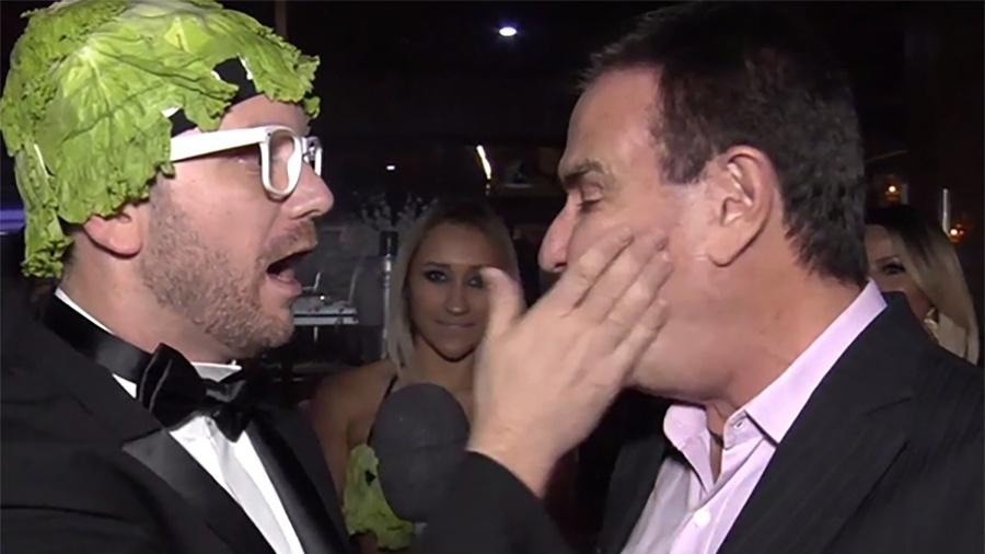"""Beto Salada, personagem do """"Pânico"""" - Reprodução"""