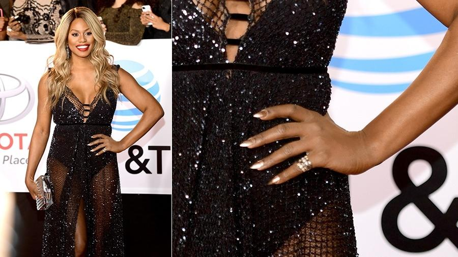 Laverne Cox no NAACP Image Awards - Getty Images