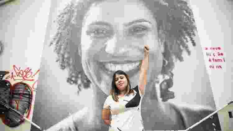 Retrato da vereadora por São Paulo Sâmia Bonfim (PSOL) - Lucas Lima/UOL - Lucas Lima/UOL