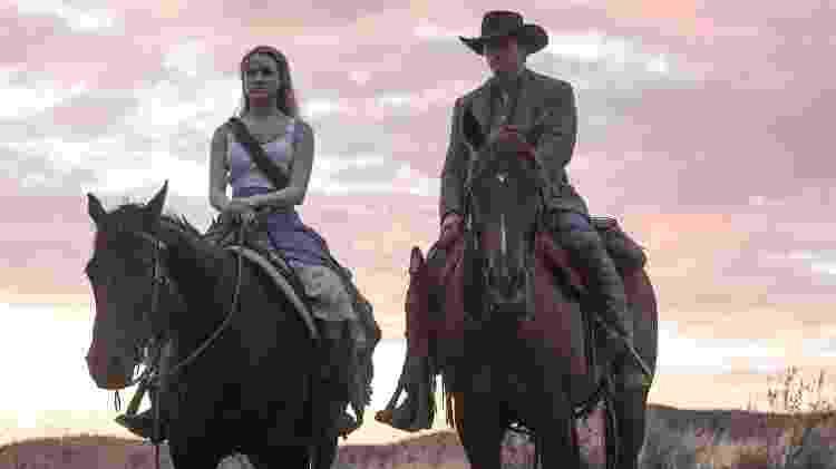 """Cena da série """"Westworld"""", em que robôs que imitam humanos com perfeição - Divulgação - Divulgação"""